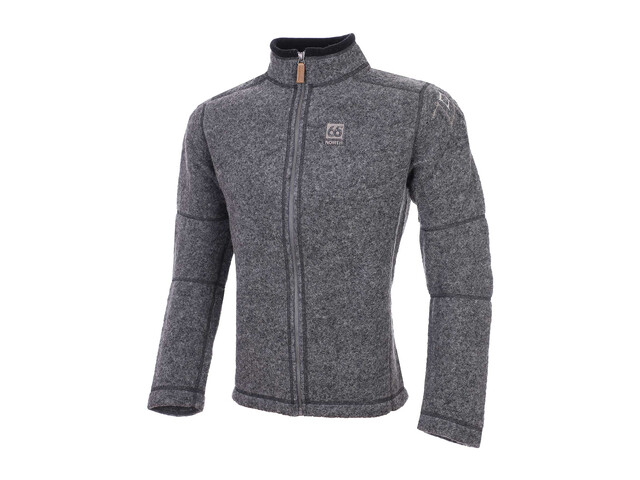 66° North Kaldi Midlayer Heren Sweater grijs
